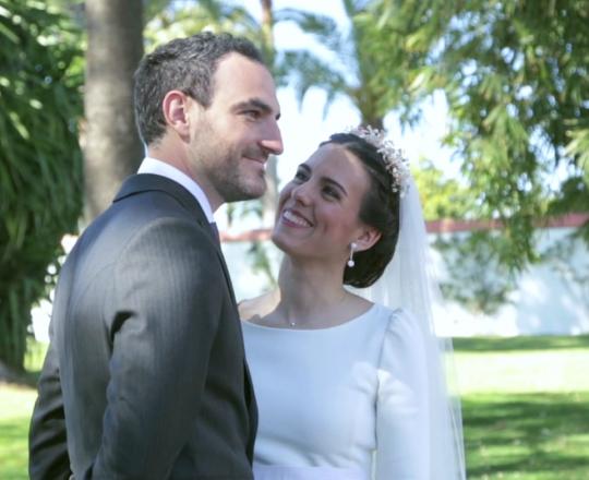 Juntos es mejor. El enlace de Teresa y Santiago
